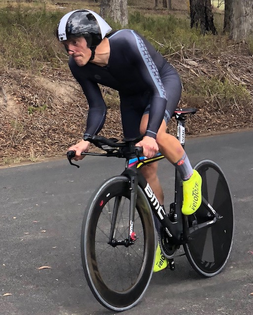 Masters Nationals 18 - Randolph Baral in the Time Trial