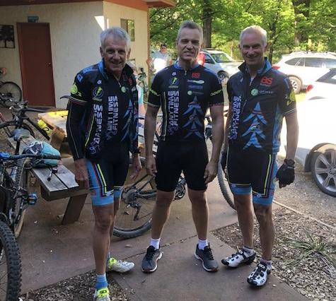 BiciSport Bright (Vic) Training Camp @ 27 Oct - Ian Grainger, Karl Hoad & Graeme Cocks