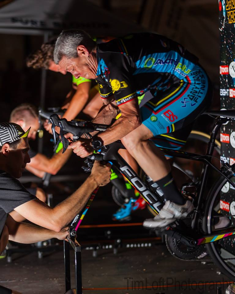 Adelaide Tour Down Under 19 @ Roller Frenzy - Lise Benjamin giving it all