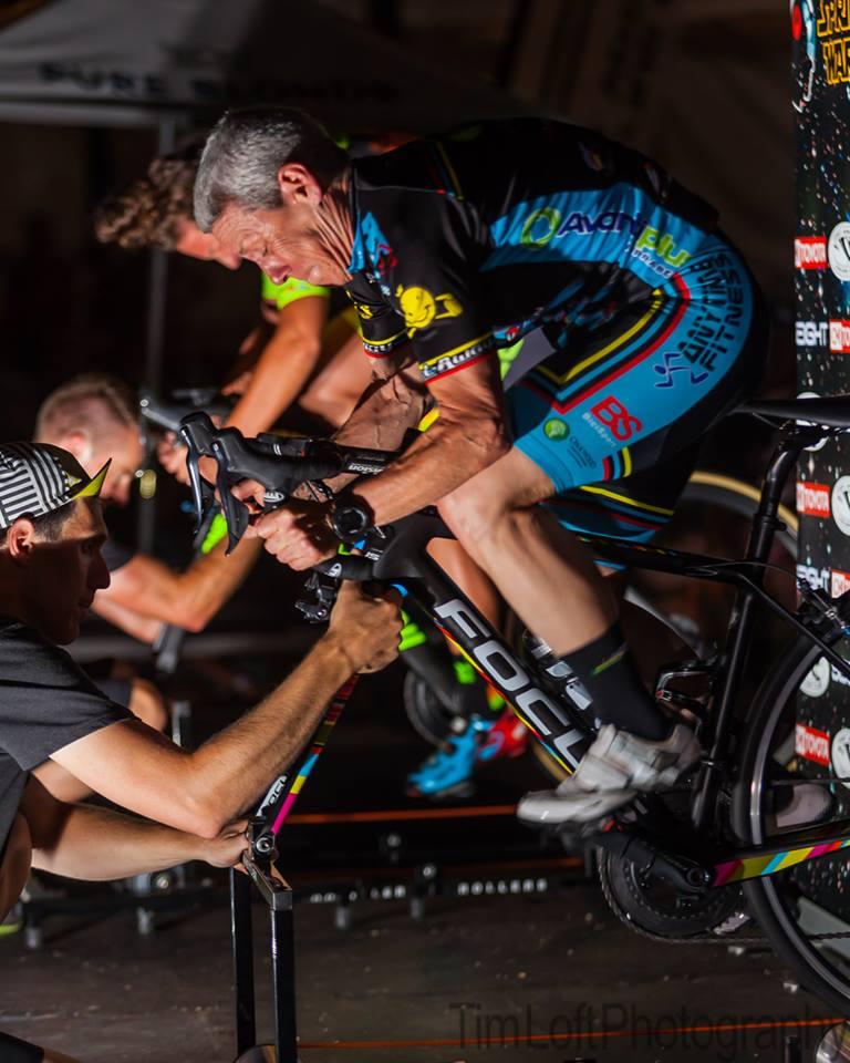 Adelaide Tour Down Under 19 @ Roller Frenzy - Lise Benjamin giving it all