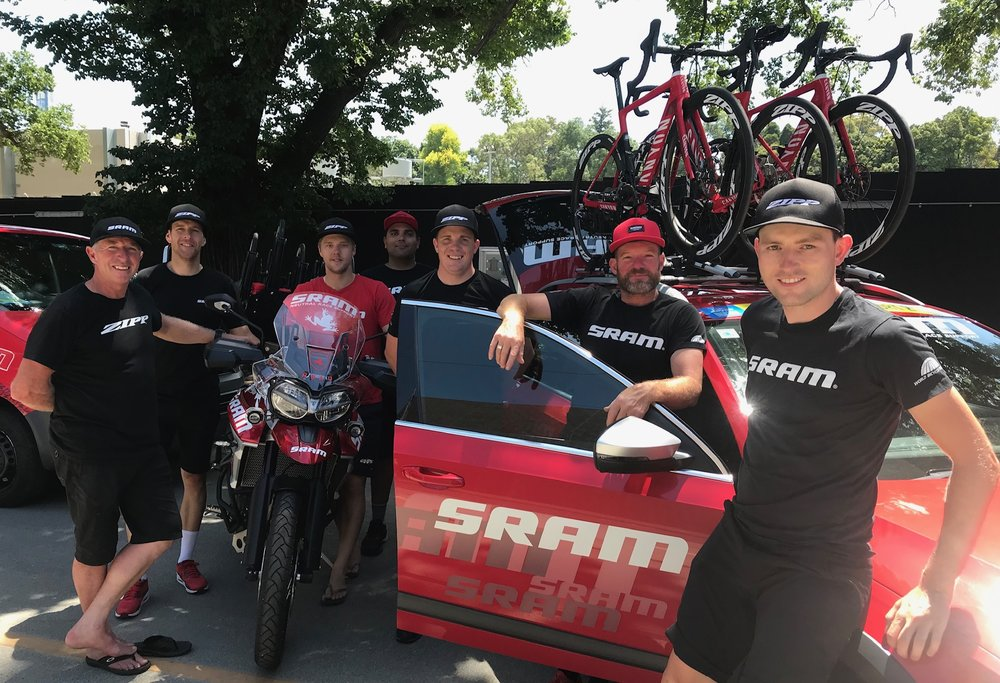 Herald Sun Tour 2019 - the SRAM team offered full professional support to  the HST led 1a37e8423
