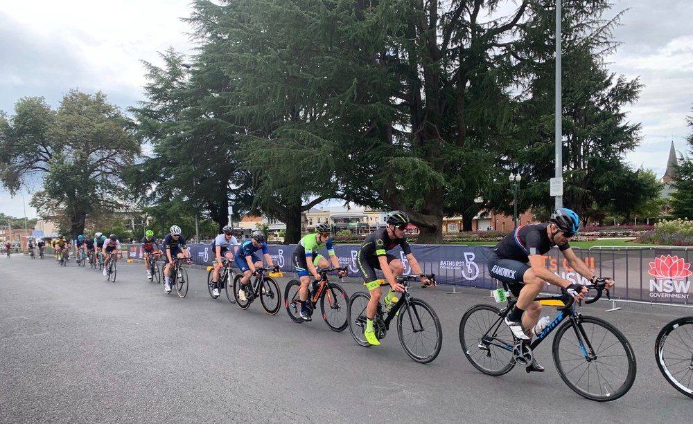 B2B Criterium @ Bathurst @ 16 Mar - Declan Jones (BiciSport Happy Wheels) went on to finish 8th