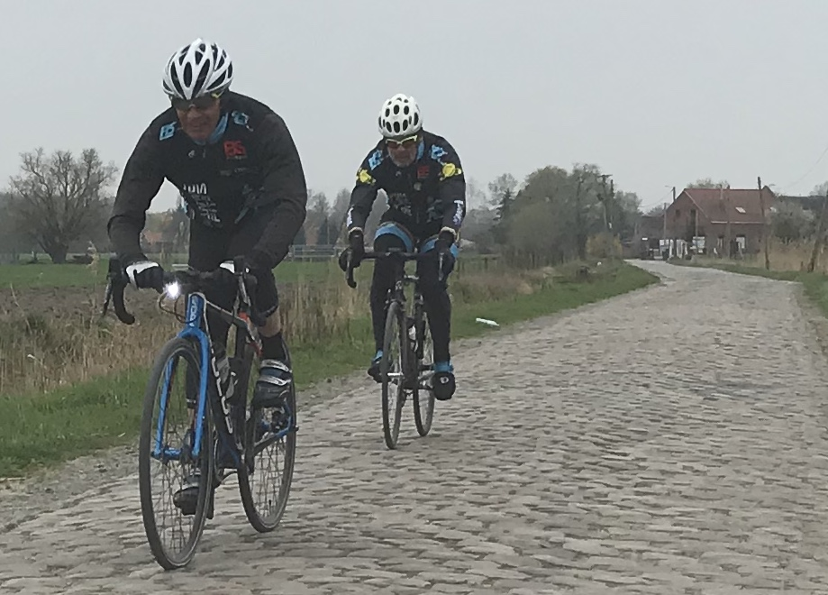Roubaix Recon Ride @ 28 Mar  - at the Warlaing cobbles (Sector 16)
