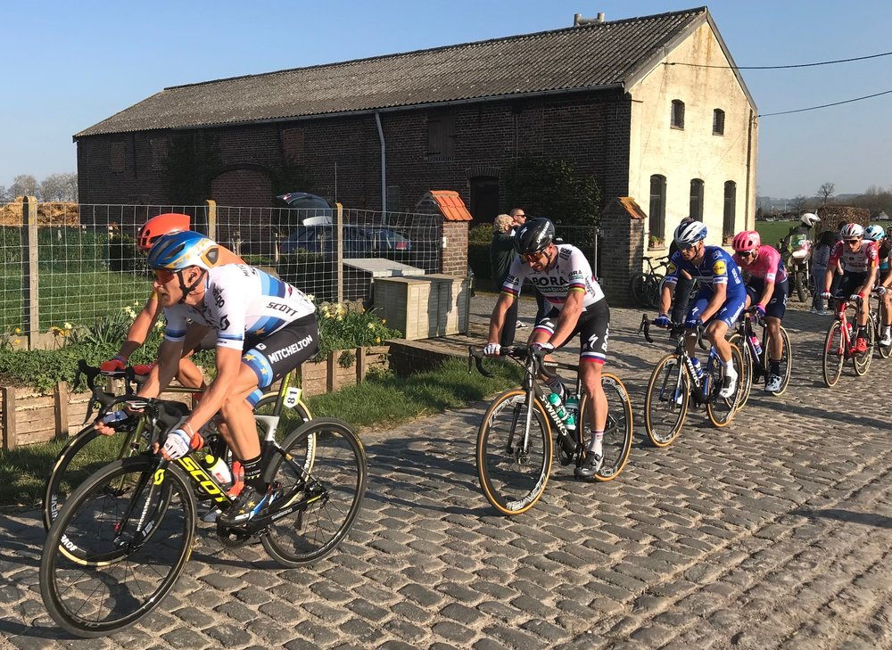E3 Grand Prix @ 29 Mar @ Avelgem Cobbles -  Peter Sagan was not on a great day but remains a hot favourite for Paris Roubaix in two weeks time. Photo MOR