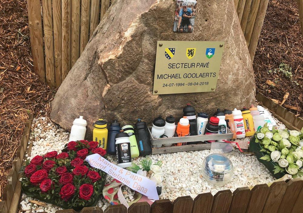 Troisvilles Wallers @ 8 April -  Michael Goolaerts Memorial at the Briastre Cobbles (Sector 28/27)