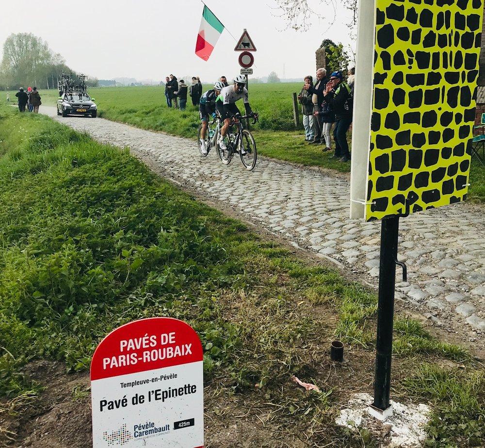 Paris Roubaix @ 14 April  - The Templeuve cobbles. Photo MOR