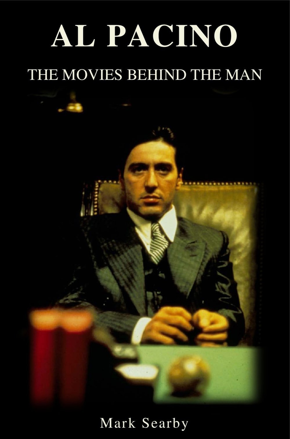 - Al Pacino: The Movies Behind The Man is the ultimate insider's guide to the filmography of the legendary Hollywood actor.Consistently recognised as one of the greatest actors of all time, Al Pacino has a huge legacy within film and an equally impressive archive of awards to his name. Unlike many other books that hold a sole character in their title, whether you're a fan of his repertoire or not, Al Pacino: The Movies Behind The Man gives a remarkable and often unexplored insight into film and one of it's key actors, making this an accessible and inspiring read.Giving an in-depth look at the films made by this icon throughout his career, Al Pacino: The Movies Behind The Man explores his legacy from his breakout performance in The Panic in Needle Park through to the early highs of the 1970s and 80s with The Godfather Parts I and II, Serpico, Dog Day Afternoon and Scarface. Each chapter of this book guides the reader through the inception, pre-production and filming of Al Pacino's entire film catalogue, delving in to previously unearthed critique and opinions of those that worked so closely with him.Readers can explore the reviews and the box office returns and digest a critical analysis on every film Pacino has ever worked on. His big box office hits such as Heat, The Devil's Advocate and Donnie Brasco through to the smaller, independent and personal productions including The Local Stigmatic, Looking For Richard and Chinese Coffee make for an inspirited variation of accounts and insight into the workings of such a highly regarded character.Featuring over fifty exclusive interviews from actors, directors, producers and writers, interviews include the likes of Stephen Bauer (Scarface), Jerry Schatzberg (The Panic in Needle Park), Israel Horovitz (Author! Author!), Hugh Hudson (Revolution), Bruce Altman (Glengarry Glen Ross), Lowell Bergman (The Insider), Jay Mohr (S1m0ne), Cary Brokaw (Angels in America), Kris Marshall (The Merchant of Venice), Lawrence Grobel (Salome and Wilde Salome) and many more.Giving a unique insight and depth to the workings behind a film icon, Mark Searby presents, AL PACINO: THE MOVIES BEHIND THE MAN Available to purchase now. Click for Amazon UK, Amazon US, Barnes & Noble, Kobo, Smashword, iBooks and other e-book retailers.Paperback edition available here