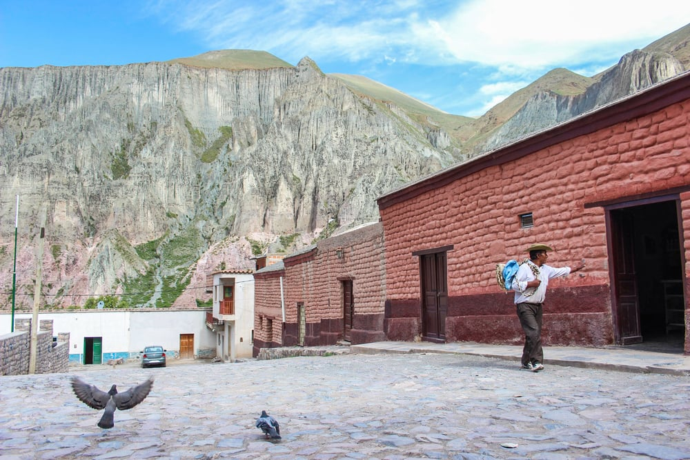 This term has an elevation of 2780 metres in Iruya, Argentina. The town has a small population of 1070.