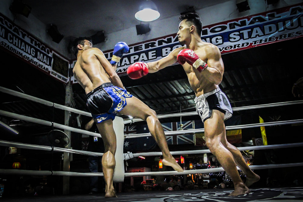 Muay Thai is a brutal sport. Involving arms and legs, the chance of injury is likely.