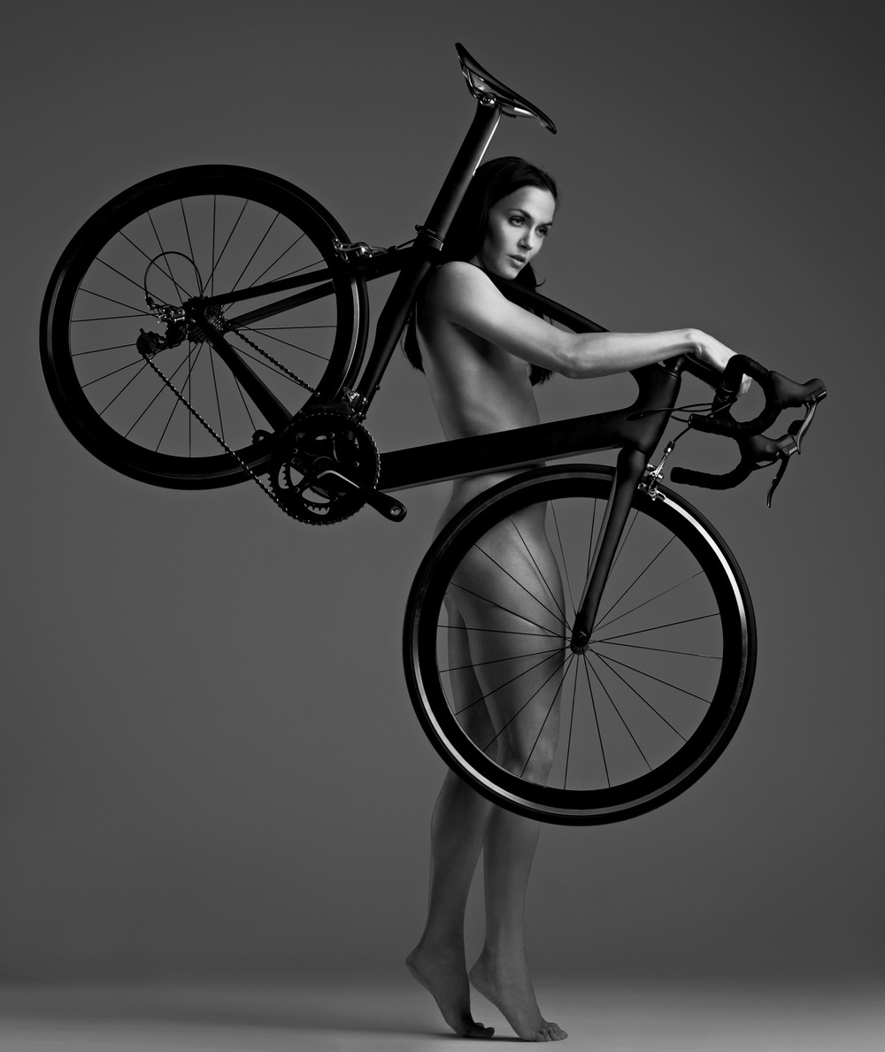 Picture shows Victoria Pendleton photographed by John Wright