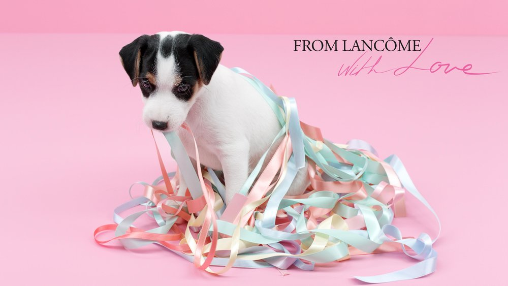LANCOME: From Lancome With Love Campaign