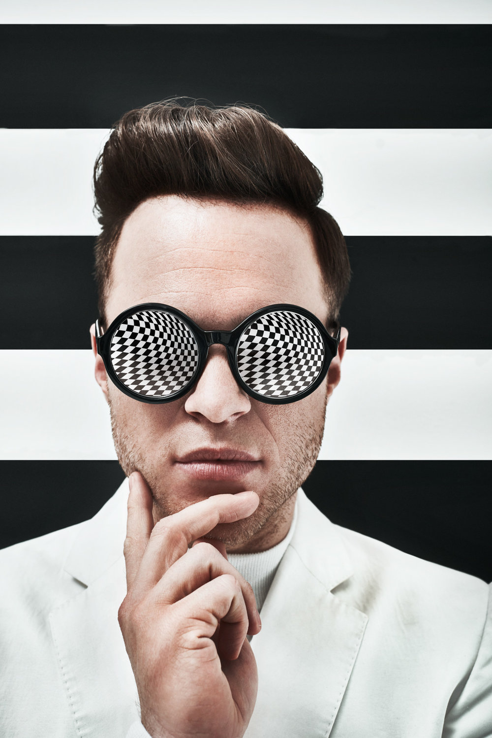 Olly Murs Photographed by John Wright