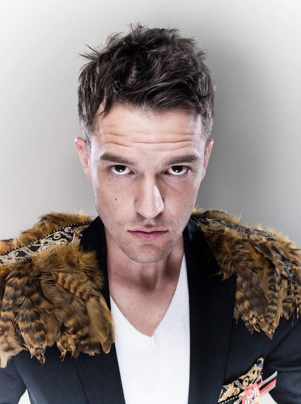 Picture shows Brandon Flowers