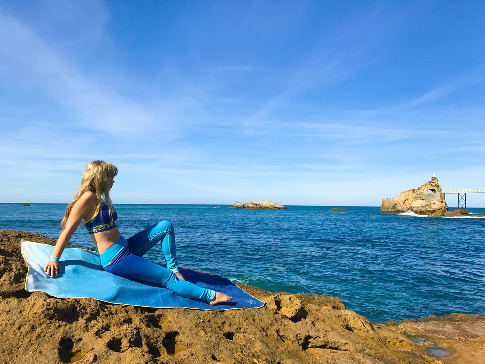 OCEAN BLUE OMBRE -