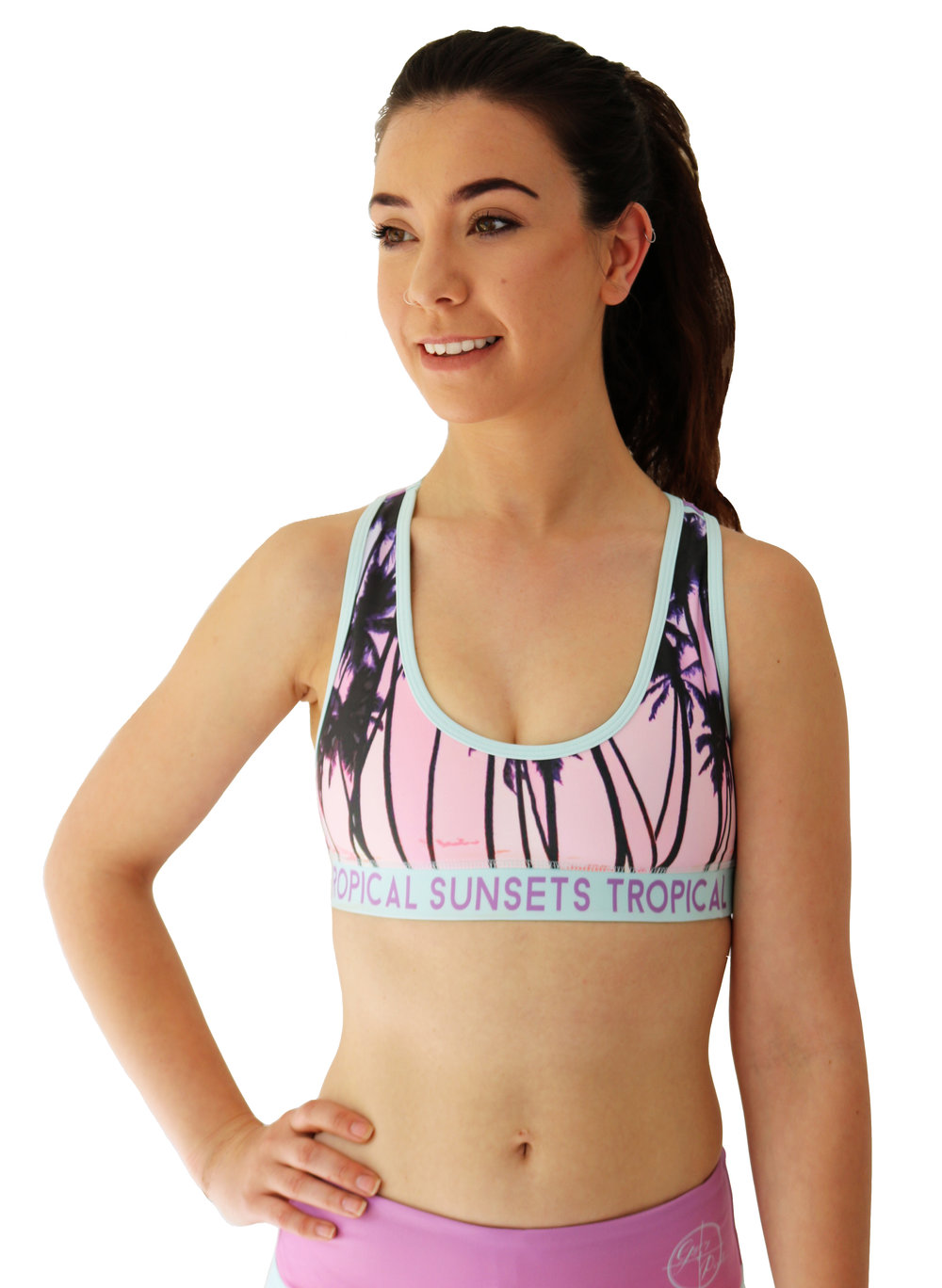 GP TROPICAL PALM SUNSETS SPORTS BRA FRONT copy.jpg