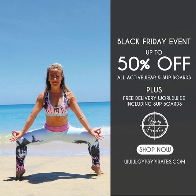 🖤 Black Friday Sale 🖤  Up to 50% off all eco friendly activewear & stand up paddle boards + FREE delivery WORLDWIDE  SHOP NOW  www.gypsypirates.com   @mckeejess wearing tropical palm print sports bra and leggings           #blackfriday #sale #thanksgiving #yoga #yogi #yogapants #yogaeverydamnday #befit #tiu #christmasgift #sup #standuppaddle #standuppaddleboard #standuppaddleboarding #standuppaddleboardyoga #fitfam #fitness #fitnessmotivation #fitnesslife #beachfit #beachhfitness #beachyoga #islandlife #yogadaily