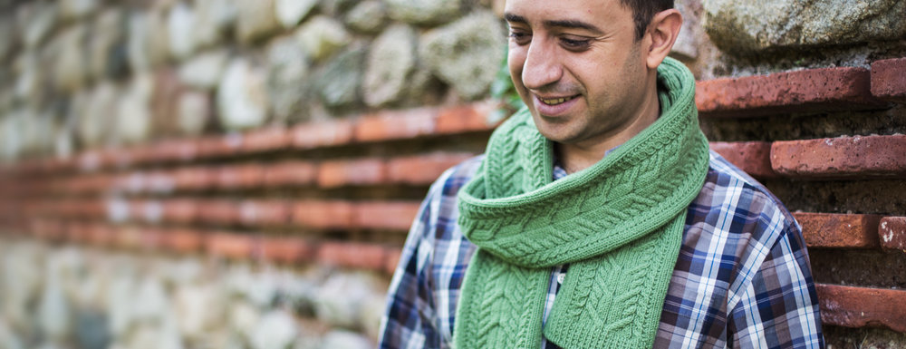 MARTIN CABLES SCARF