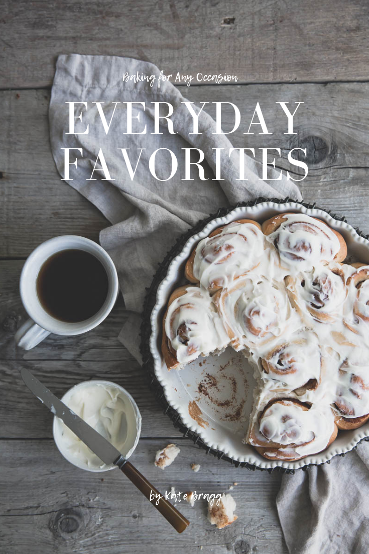 Have you gotten your free ebook yet? - Everyday Favorites is a collection of some of my favorite everyday baking recipes, perfect for any occasion. In addition to this ebook, you will get access to the whole library with ideas for holidays, baking, and photography advice. Come check it out!