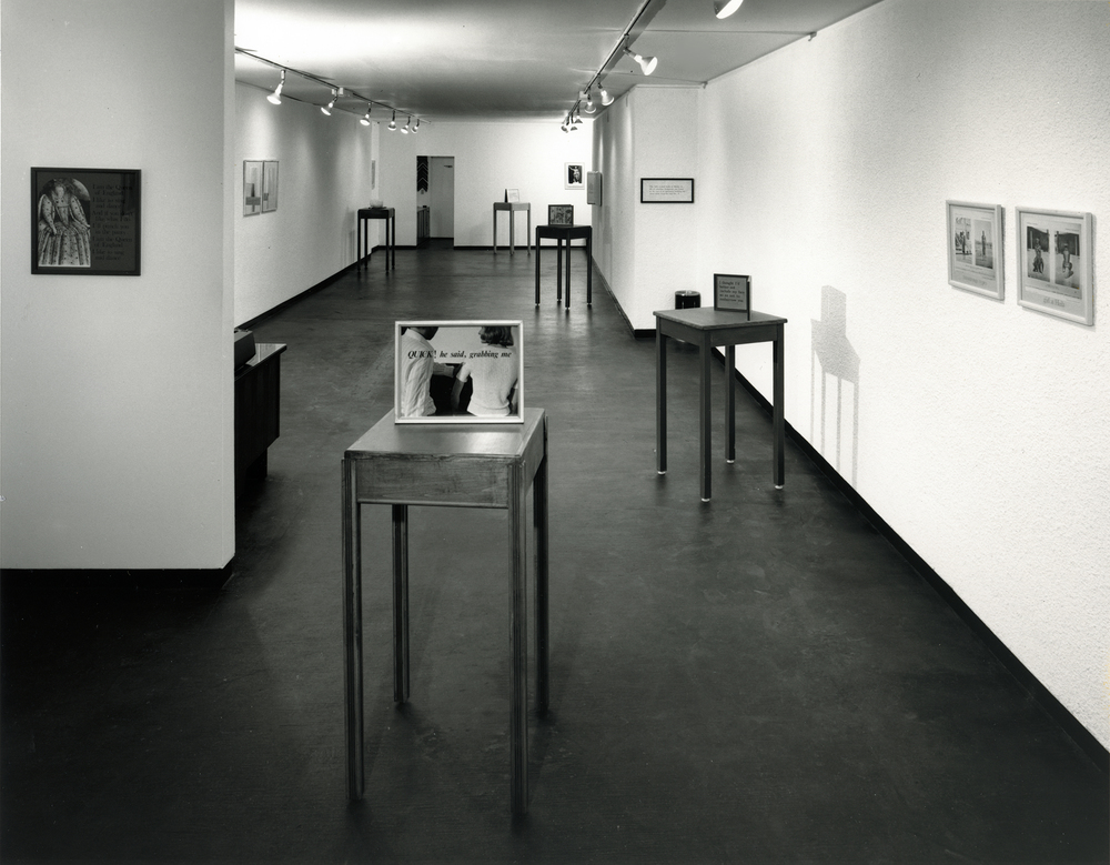Ian Carr-Harris at the Carmen Lamanna Gallery, September 22 - October 11, 1973
