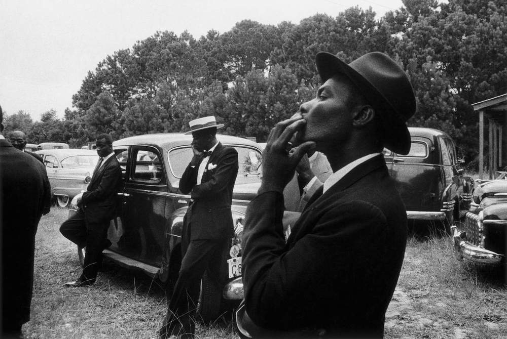 Funeral—St. Helena, South Carolina , 1955