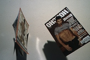 Porn magazines with Bruce LaBruce photographs