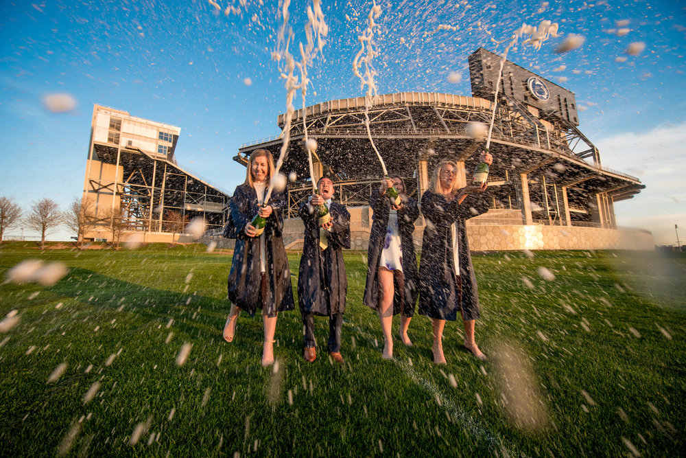 Beaver Stadium also makes for a great location to take fun pictures.
