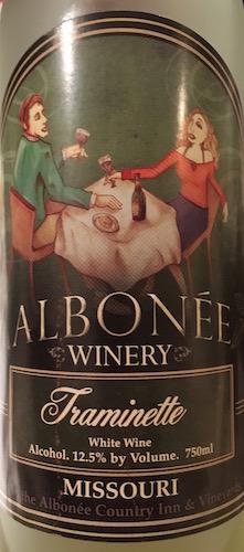 Albonee Winery Traminette (Non-Vintage)