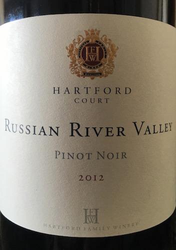 Hartford Court Russian River Valley Pinot Noir 2012