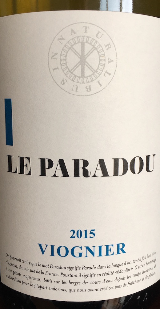 Paradou Viognier 2014
