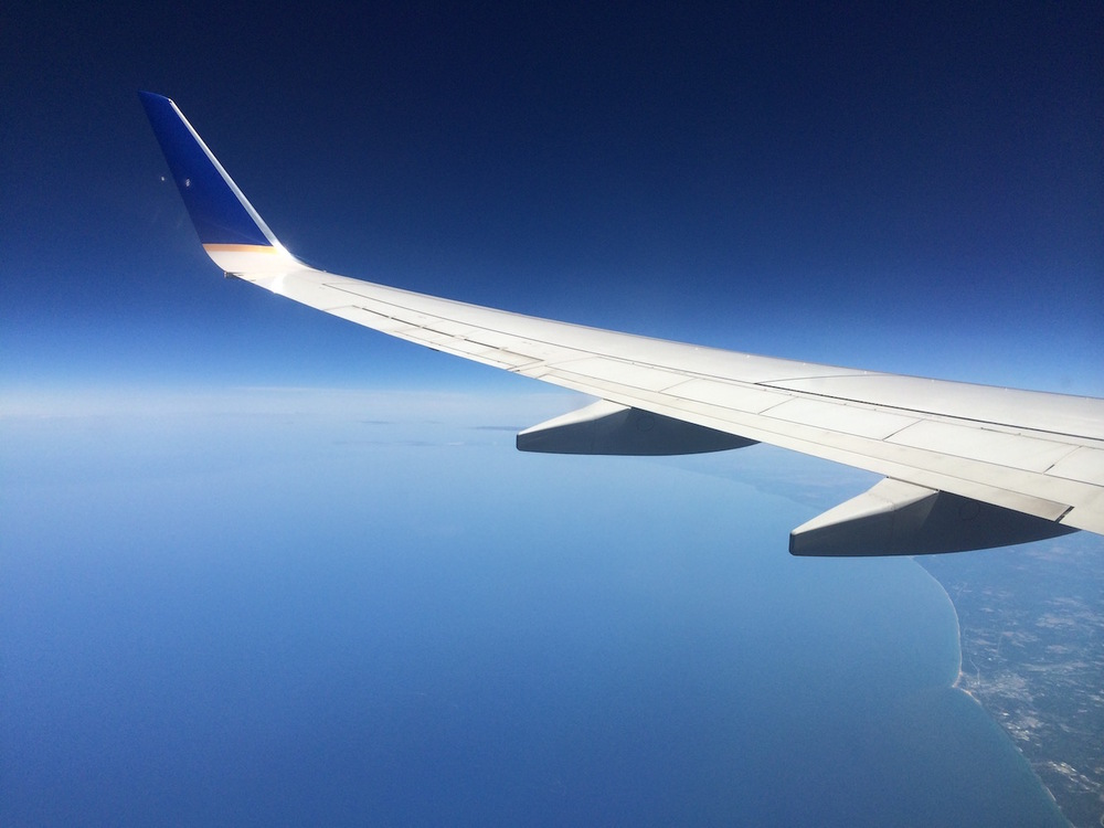 May your points take you on many adventures, such as this one aboard United Airlines. Points earned through travel credit cards not affiliated with a specific airline can be redeemed for travel on all of the major carriers.