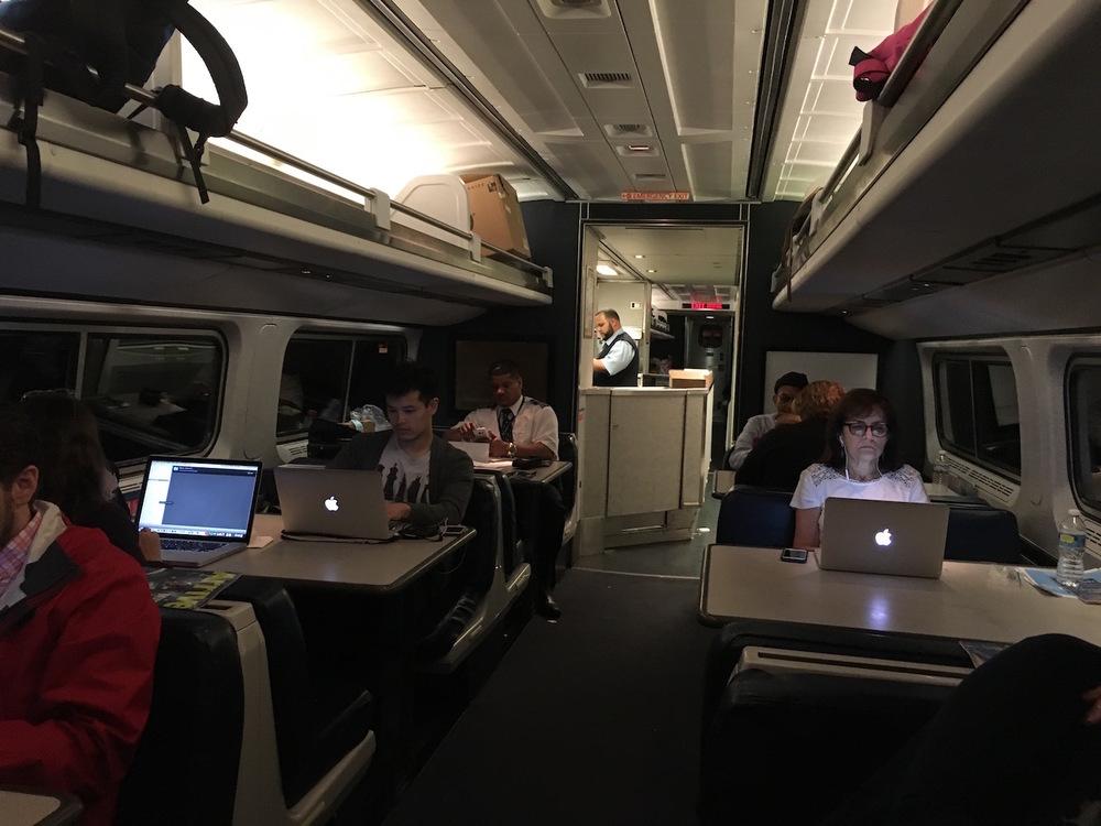 Amtrak Cafe Car