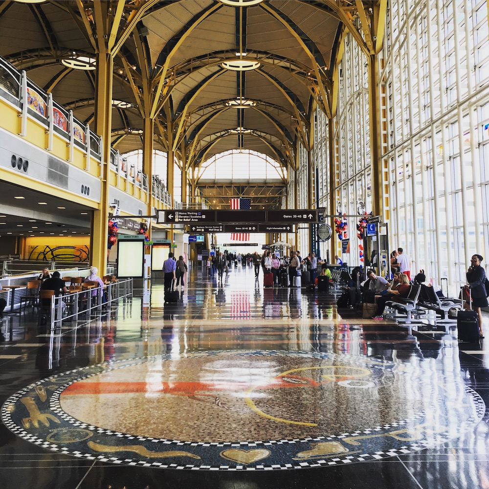 Ronald Reagan Washington National Airport one of Americas best