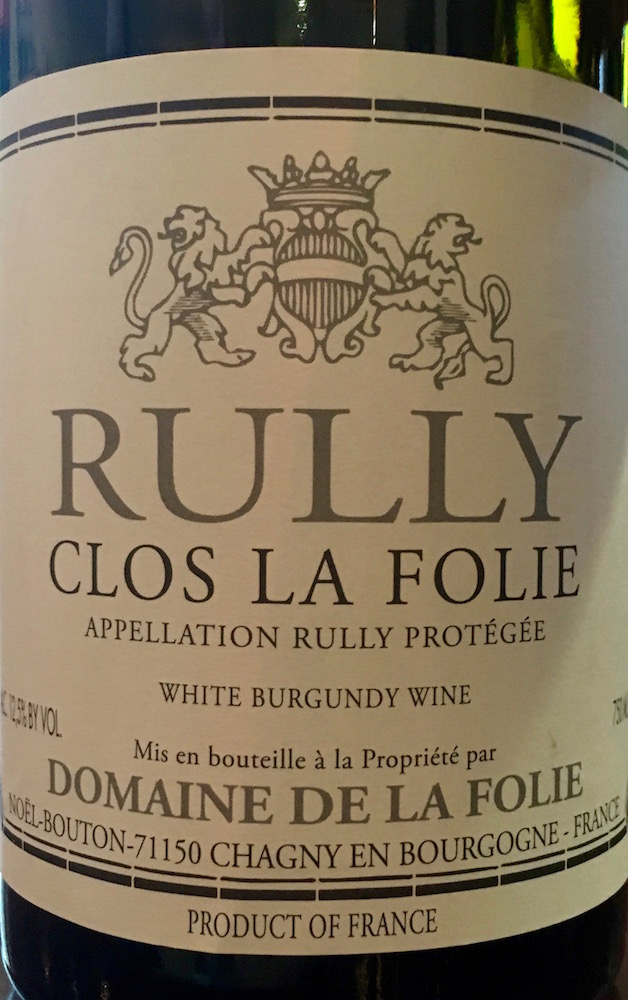 Rully Clos La Folie