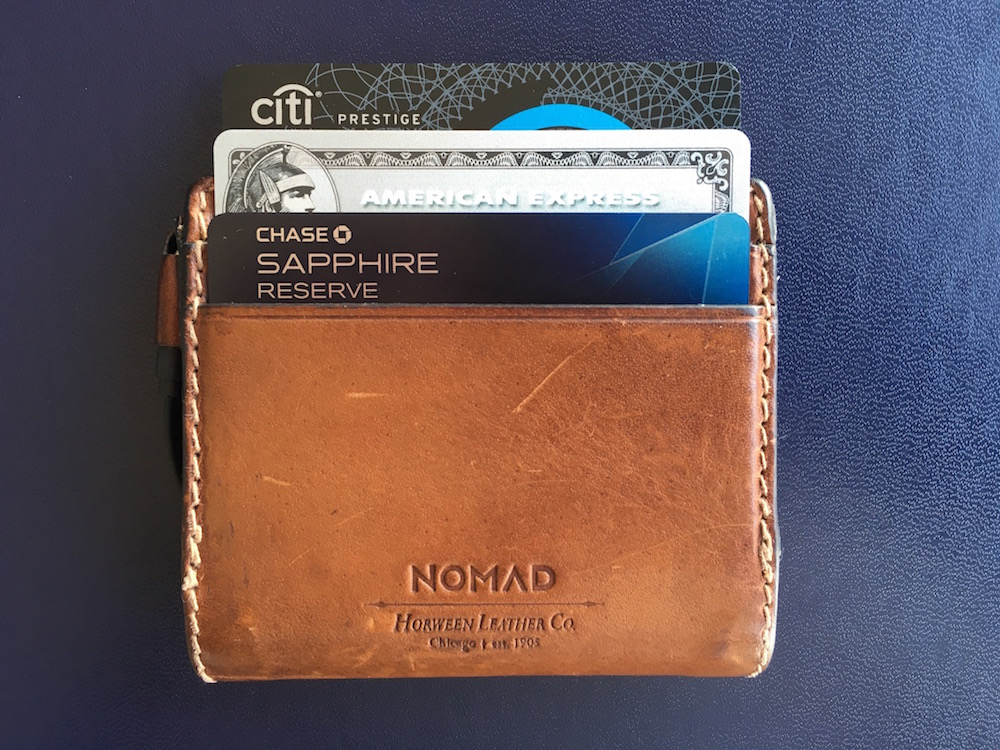 """Of the big three, I rate the Chase Sapphire Reserve and the AMEX Platinum a """"buy"""" right now, depending on what you value. The Citi Prestige just isn't as compelling as it used to be. Also, the Nomad Leather Charging Wallet is amazing."""