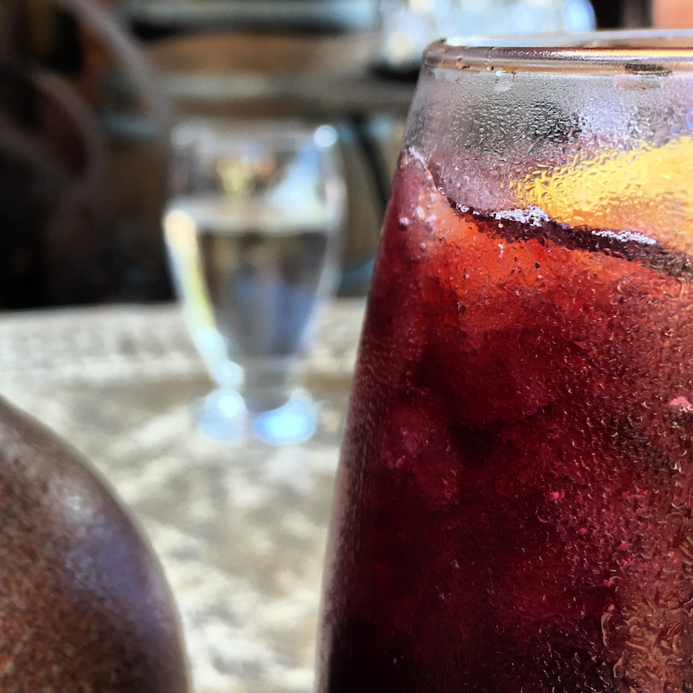 Fall Sangria at Potomac Point Winery