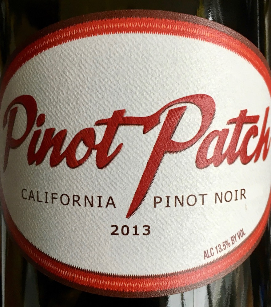 2013 Pinot Patch Pinot Noir
