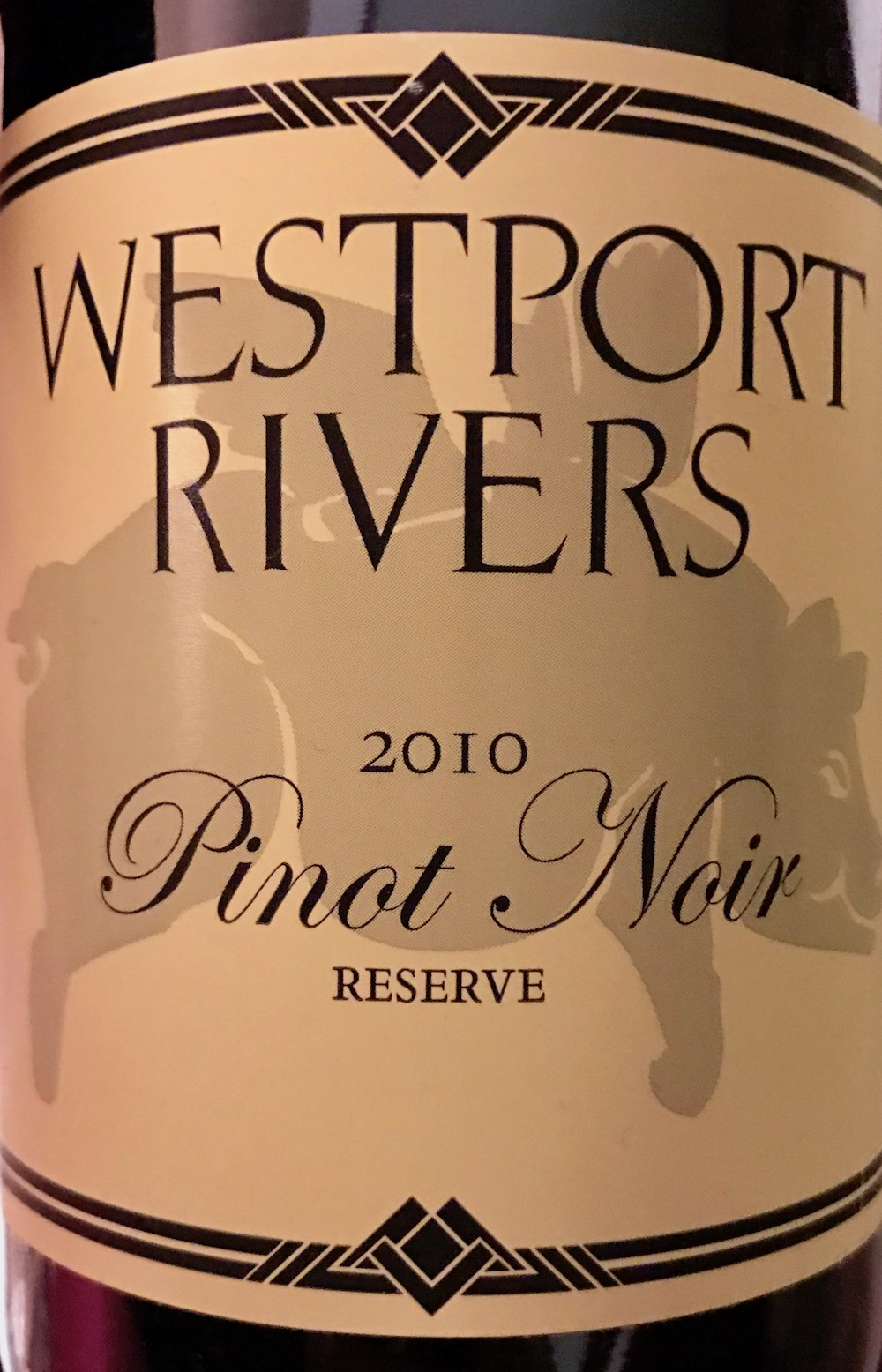 Westport Rivers Pinot Noir Reserve