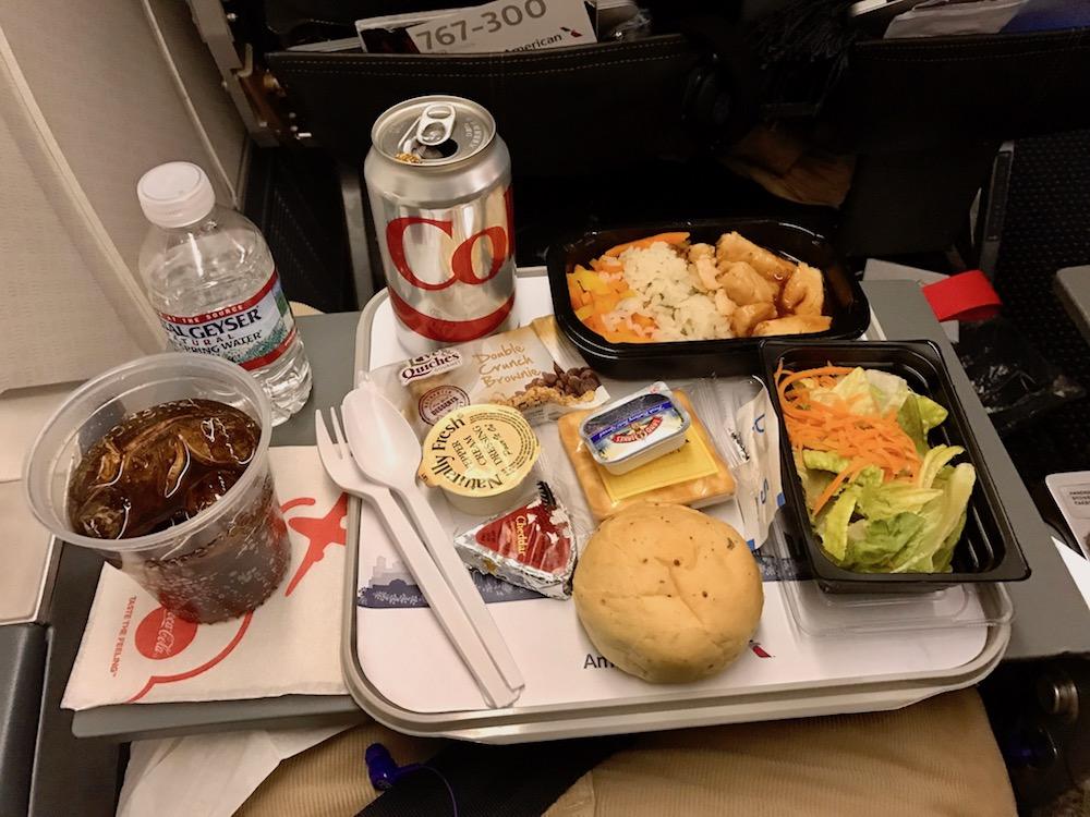 Dinner in Economy