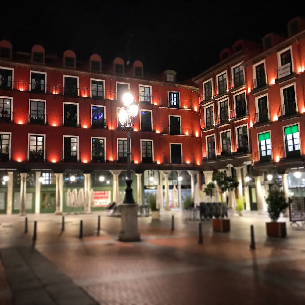 Plaza Mayor in Valladolid