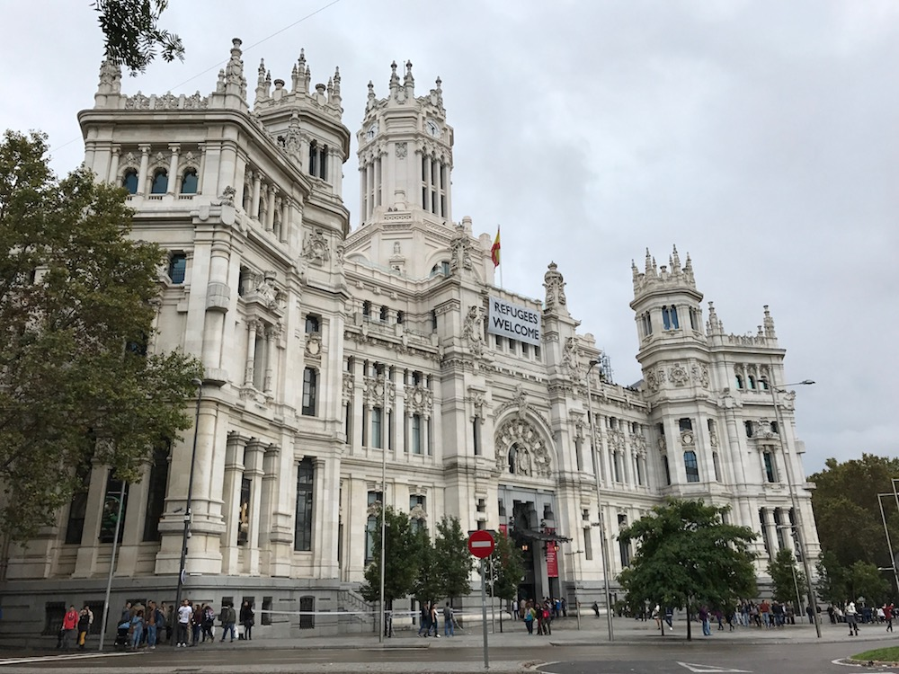 Cibeles Palace is an iconic Madrid landmark.