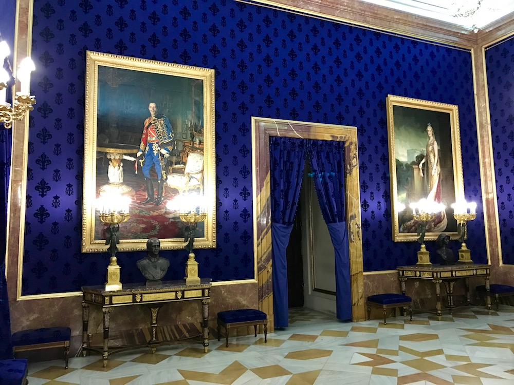 It is possible photos were not authorized in this room of Palacio Real... but I didn't know that until the picture had been taken.