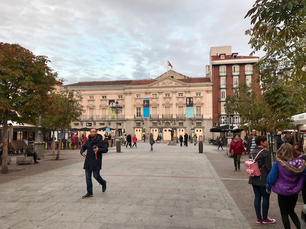 Plaza de Santa Ana is smaller and quieter than Plaza Mayor, but just as worthwhile a spot on which to pass an afternoon that becomes an evening.