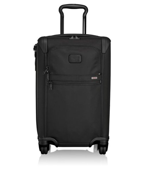 Tumi Alpha 2 International Expandable 4-Wheel Carry-on (Black)