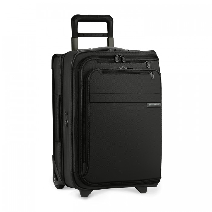 Briggs & Riley Domestic Carry-On Upright Garment Bag (Black)