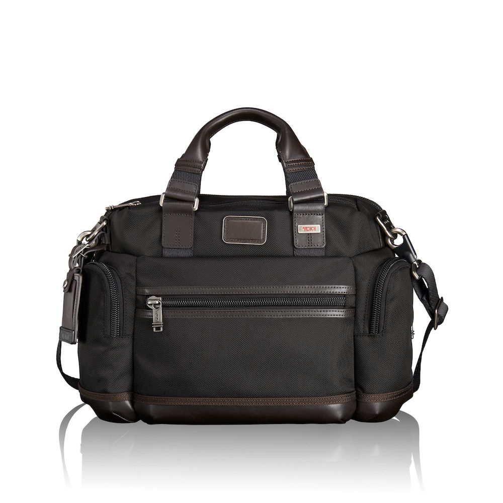 Tumi Alpha Bravo Brooks Slim Brief (Hickory)