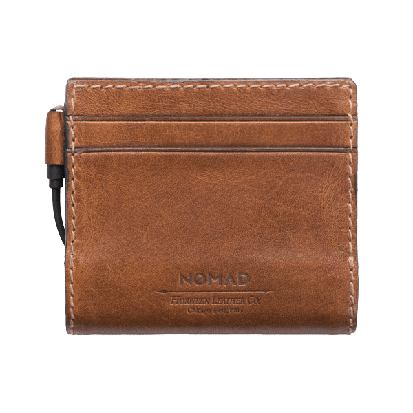 Nomad Slim Leather Charging Wallet