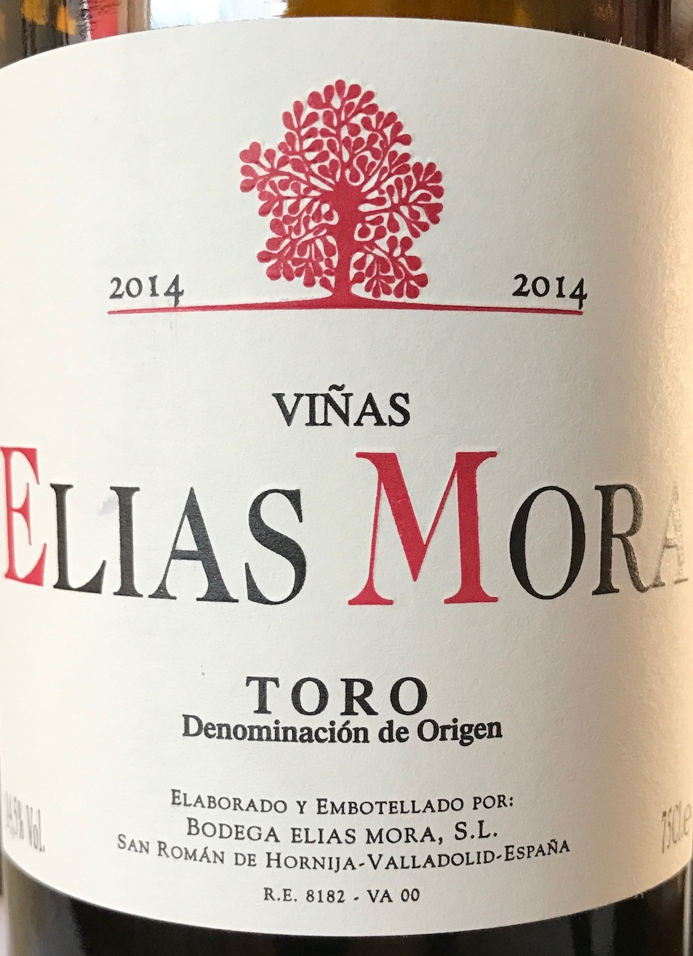 2014 Viñas Elias Mora