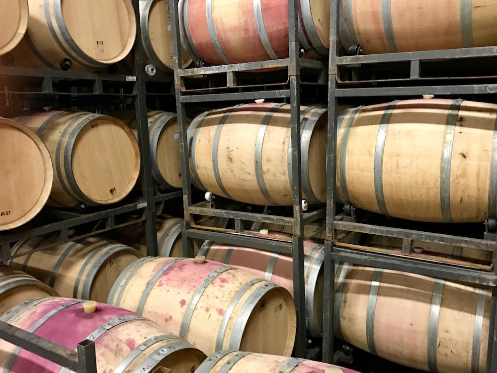 Aging in the Barrel Cellar