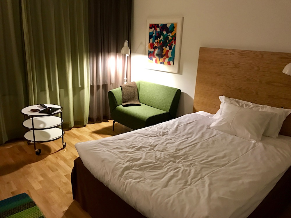 The Landvetter Airport Hotel in Gothenburg is a solid choice, but be careful not to accidentally book the hotel next to Gothenburg City Airport. Not a thing.