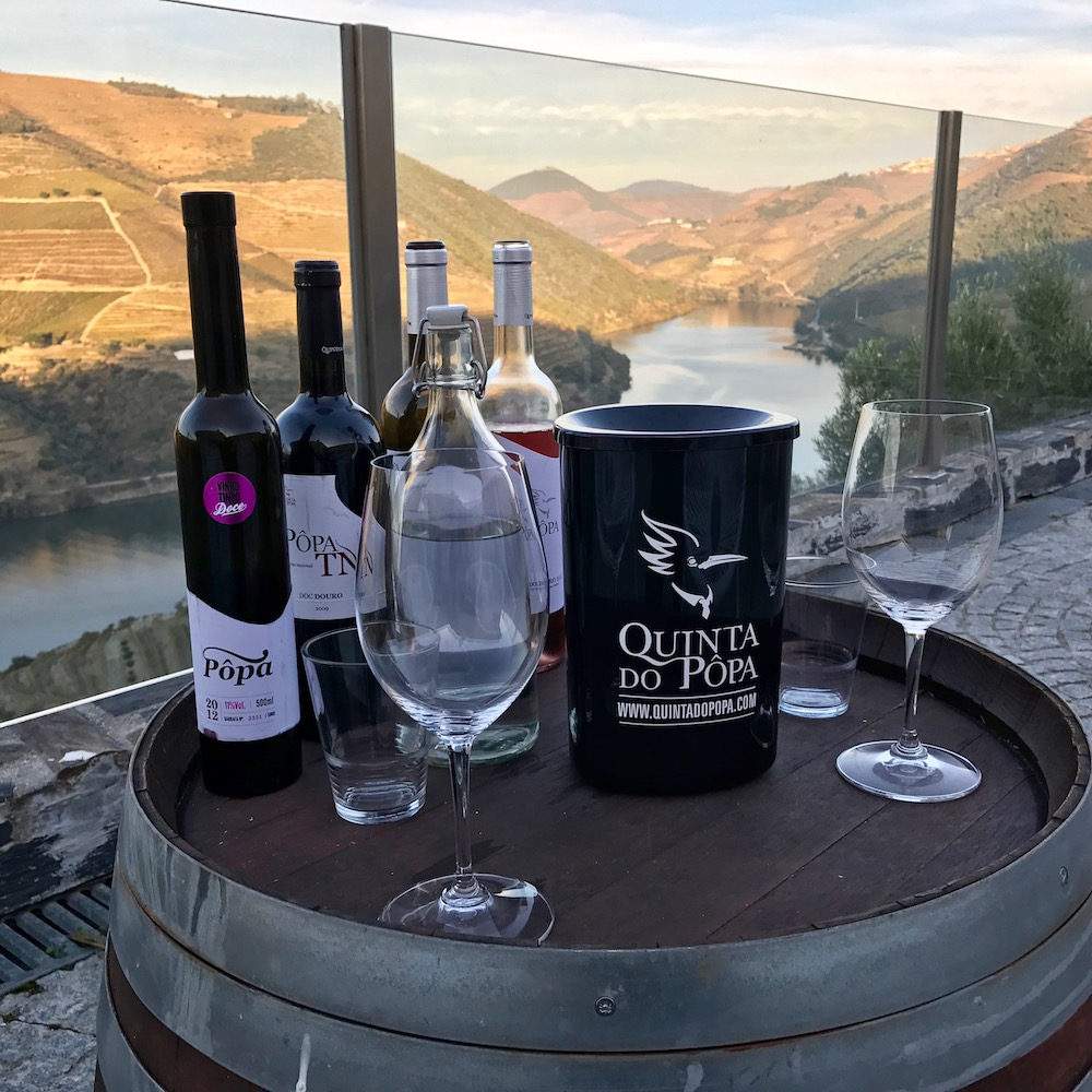 Quinta do Pôpa offers visitors a wonderful tasting experience, one of the best we found on our recent travels through both Portuguese and Spanish wine regions.
